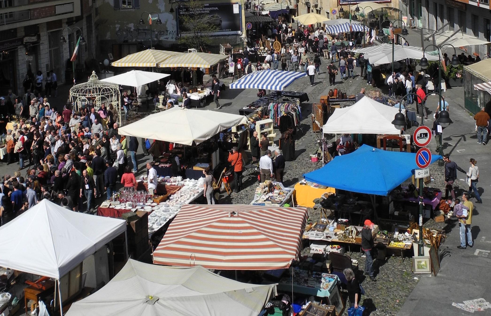 I mercati scopri porta palazzo for Balon torino