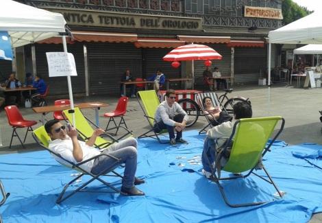 l'area relax di Yepp
