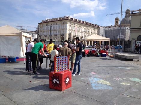 Giochi in piazza